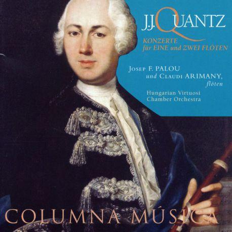 Quantz: Konzerte für eine und zwei flöten