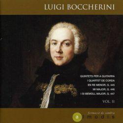Boccherini: Quintetos para guitarra y cuarteto de cuerda, Vol. 2