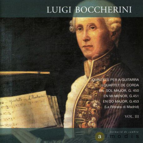 Boccherini: Quintetos para guitarra y cuarteto de cuerda, Vol.3