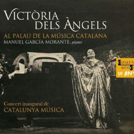 Victòria dels Àngels al Palau de la Música. Concert inaugural de Catalunya Música