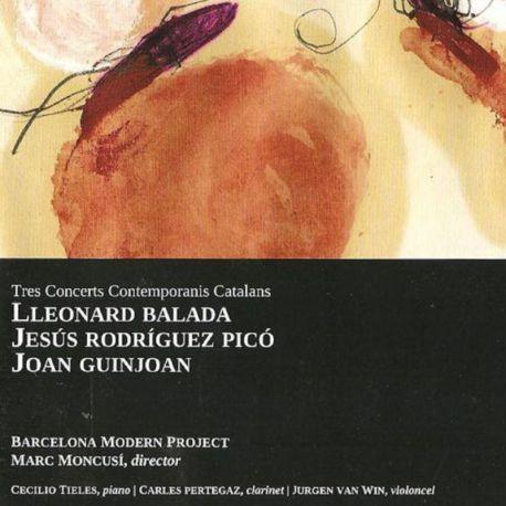 Tres concerts contemporanis catalans