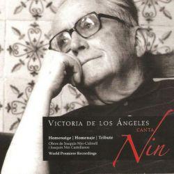 Victoria de los Ángeles canta Nin. Homenatge a Joaquin Nin-Culmell