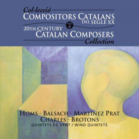 Compositors catalans segle XXI, Vol. 4: Quintets de vent
