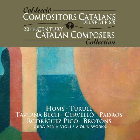 Compositors catalans segle XXI, Vol. 5: Obra per a violí