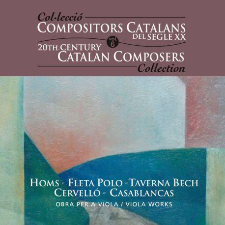 Compositors catalans segle XXI, Vol. 6: Obra per a viola