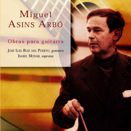 Asins Arbó: Obras para guitarra