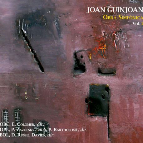 Guinjoan: Obra simfònica, Vol. 1