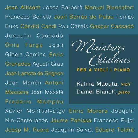 Miniatures catalanes per a violí i piano