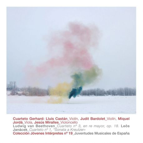 "Beethoven: Cuarteto Núm. 3 en Re Mayor Op. 18 & Janácek: Cuarteto Núm. 1 ""Sonata a Kreutzer"""