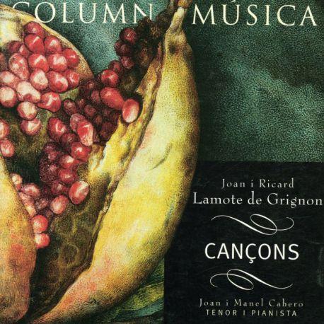 Lamote de Grignon: Cançons